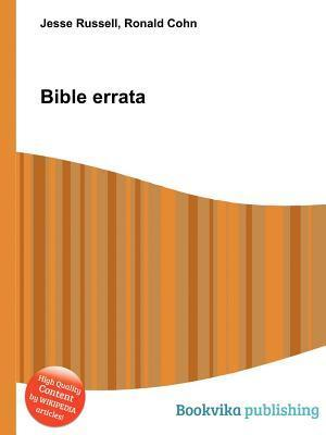 Bible Errata  by  Jesse Russell