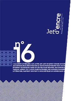 Jet dencre no16  by  Collectif