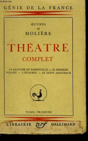 Théâtre Complet - Tome 1 Molière