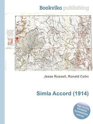 Simla Accord (1914) Jesse Russell