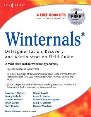 Winternals Defragmentation, Recovery, and Administration Field Guide  by  Lawrence Abrams