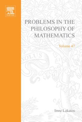 Problems in the Philosophy of Mathematics  by  Brouwer