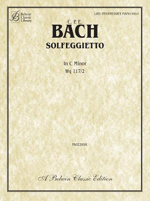 Solfegietto in C Minor, Wq117/2: Sheet  by  Carl Philipp Emanuel Bach