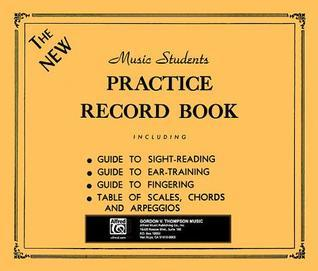 The New Music Students Practice Record Book Alfred A. Knopf Publishing Company, Inc.