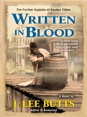 Written in Blood J. Lee Butts