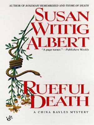 Rueful Death Susan Wittig Albert
