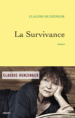 La survivance  by  Claudie Hunzinger