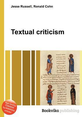 Textual Criticism Jesse Russell