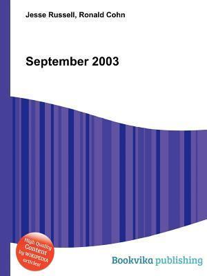 September 2003 Jesse Russell