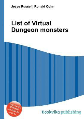 List of Virtual Dungeon Monsters Jesse Russell
