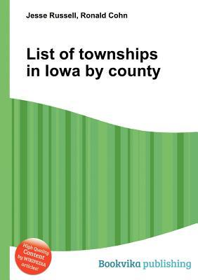 List of Townships in Iowa County by Jesse Russell