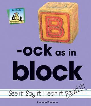 Ock as in Block Amanda Rondeau