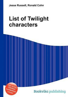 List of Twilight Characters Jesse Russell