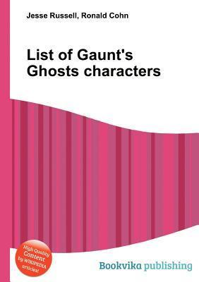 List of Gaunts Ghosts Characters Jesse Russell