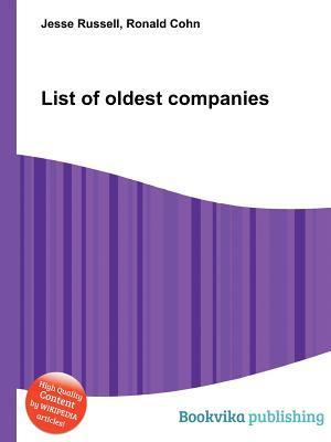 List of Oldest Companies  by  Jesse Russell
