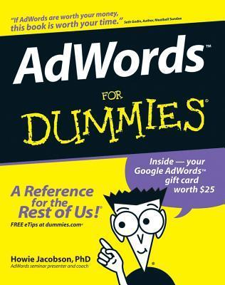 Adwords for Dummies  by  Howie Jacobson