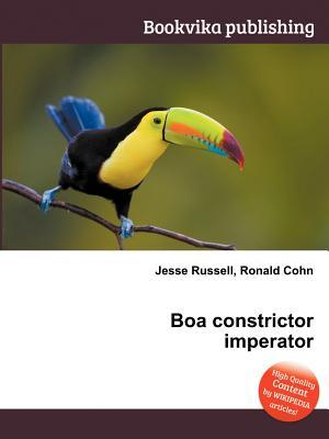 Boa Constrictor Imperator Jesse Russell