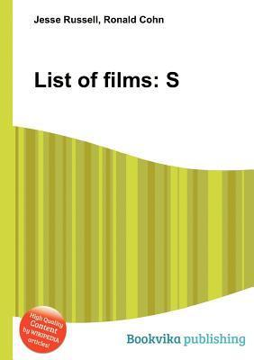 List of Films: S  by  Jesse Russell