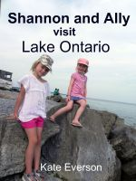 Shannon and Ally Visit Lake Ontario  by  Kate Everson