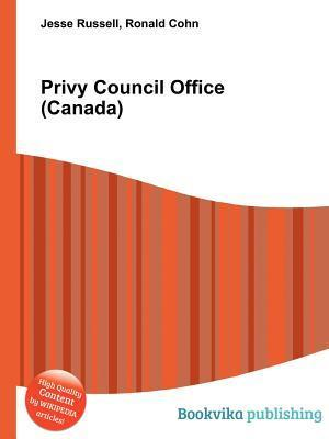 Privy Council Office Jesse Russell