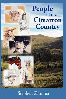 People of the Cimarron Country  by  Stephen  Zimmer
