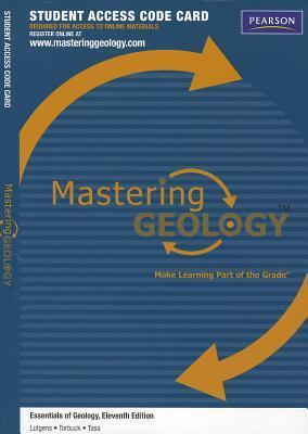 Masteringgeology(tm) -- Standalone Access Card -- For Essentials of Geology Frederick K. Lutgens