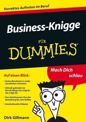 Business-Knigge Fur Dummies Dirk Gillmann