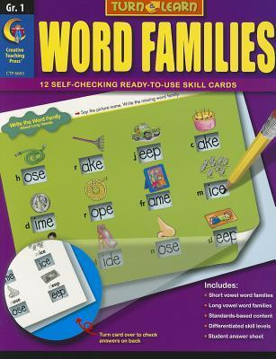 Word Families: Grade 1  by  Jennifer Geck Taylor