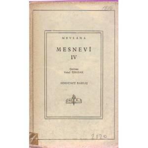 Mesnevî IV Rumi