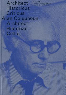 Oase 87: Alan Colquhoun Alan Colquhoun