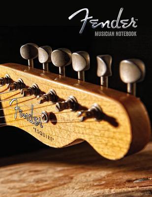 Fender Musician Notebook  by  Hal Leonard Publishing Company