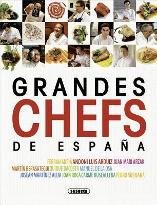 Grandes chefs de España  by  Susaeta publishing
