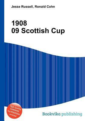 1908 09 Scottish Cup Jesse Russell