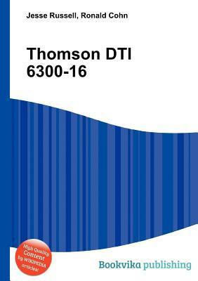 Thomson Dti 6300-16 Jesse Russell