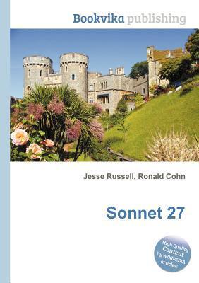 Sonnet 27 Jesse Russell