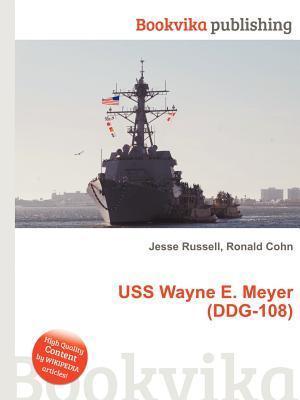 USS Wayne E. Meyer (Ddg-108)  by  Jesse Russell