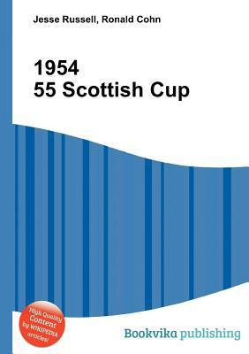 1954 55 Scottish Cup  by  Jesse Russell