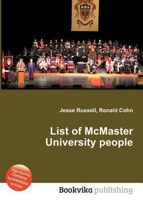 List of McMaster University People Jesse Russell