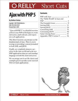 Ajax with PHP 5  by  Andrew G. Curioso