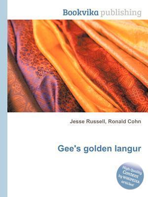 Gees Golden Langur Jesse Russell