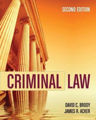 Criminal Law  by  David C. Brody