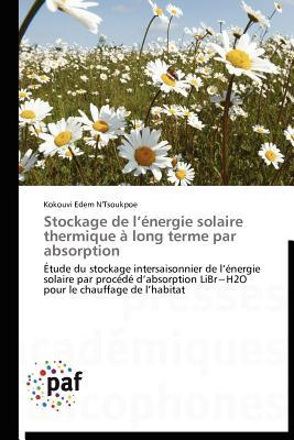 Stockage de LEnergie Solaire Thermique a Long Terme Par Absorption  by  Kokouvi Edem NTsoukpoe