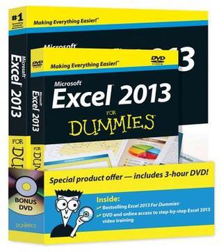 Excel 2013 For Dummies, Book + DVD Bundle  by  Greg Harvey