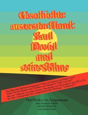 Geschichte Aus Erster Hand  by  Gustav Franz