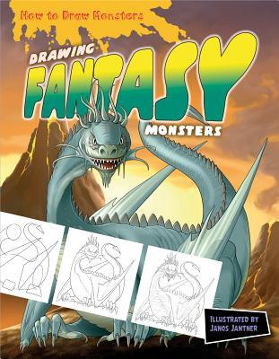 Drawing Fantasy Monsters  by  Janos Jantner