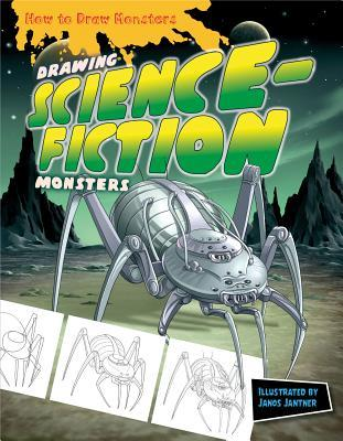 Drawing Science-Fiction Monsters Janos Jantner