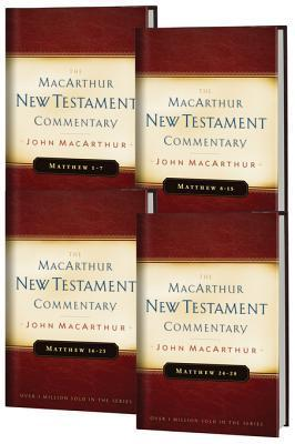 Matthew 1-28 MacArthur New Testament Commentary Four Volume Set John F. MacArthur Jr.