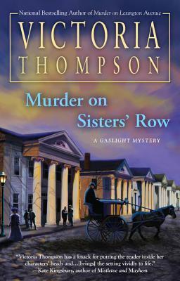 Murder on Sisters Row Victoria Thompson
