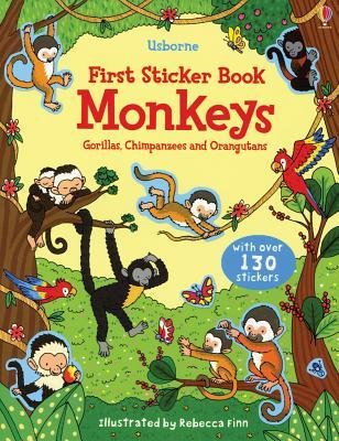 First Sticker Book Monkeys Kasia Dudziuk