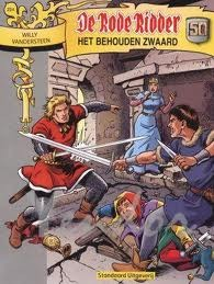 Het behouden zwaard (De Rode Ridder #224) Martin Lodewijk